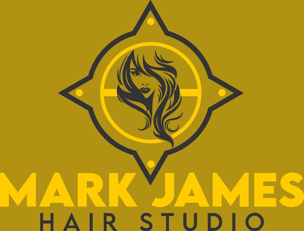 The Mark James Hair Studio logo